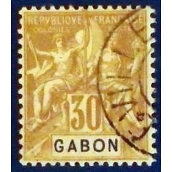 Gabon (Gabun) YT 24 Obl