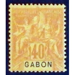 Gabon (Gabun) YT 26 *