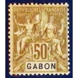 Gabon (Gabun) YT 28 *