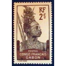 Gabon (Gabun) YT 34 *
