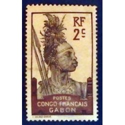 Gabon (Gabun) YT 35 *