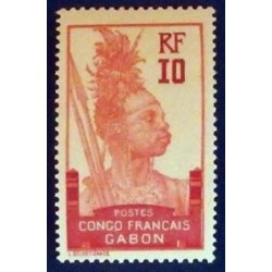 Gabon (Gabun) YT 37 *