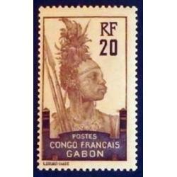 Gabon (Gabun) YT 38 *