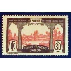 Gabon (Gabun) YT 40 *