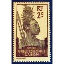 Gabon (Gabun) YT 50 *
