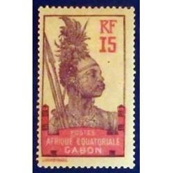 Gabon (Gabun) YT 54 *
