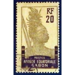 Gabon (Gabun) YT 55a Obl