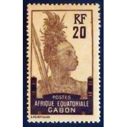 Gabon (Gabun) YT 55 *