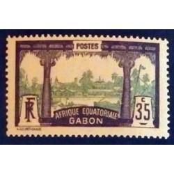 Gabon (Gabun) YT 58 *