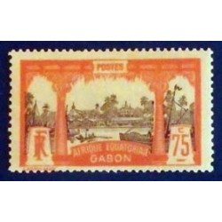 Gabon (Gabun) YT 62 *