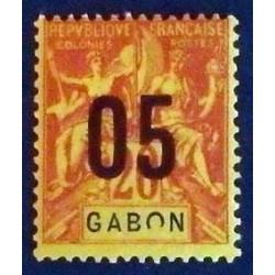 Gabon (Gabun) YT 69 *