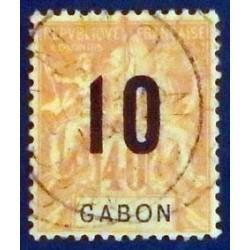 Gabon (Gabun) YT 72 Obl