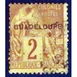 Guadeloupe YT 15 Obl