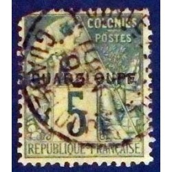 Guadeloupe YT 17 Obl