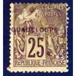 Guadeloupe YT 21 Obl