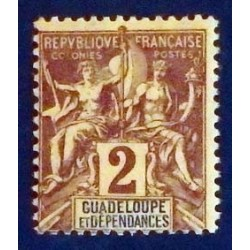 Guadeloupe YT 28 *