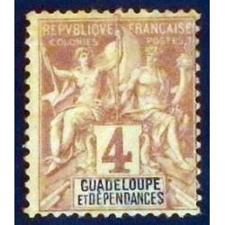 Guadeloupe YT 29 *
