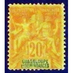 Guadeloupe YT 33 *