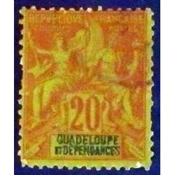 Guadeloupe YT 33 Obl