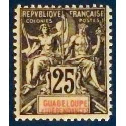 Guadeloupe YT 34 *