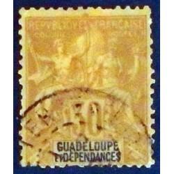Guadeloupe YT 35 Obl