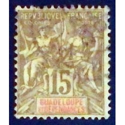 Guadeloupe YT 42 Obl